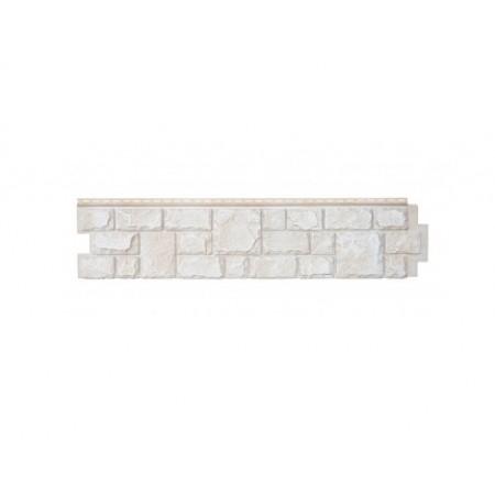 Фасадная (цокольная) панель Grand Line Екатерининский камень Слоновая кость - фото