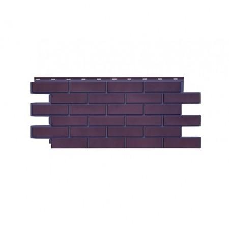 Фасадная панель Nordside Гладкий кирпич Ореховый флер - фото