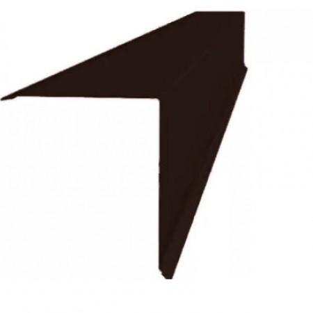 Планка конька односкатной кровли 160x160 Grand Line 0,5 Satin Мatt - фото #1