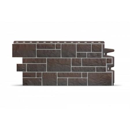 Фасадная (цокольная) панель Docker BURG Земляной - фото