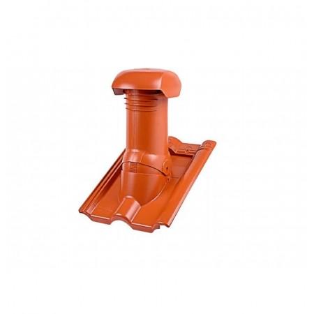 Комплект для организации вентиляции через коньковый элемент Braas Тевива - фото #1
