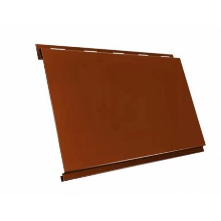 Металлический сайдинг GL Вертикаль Green Coat Pural