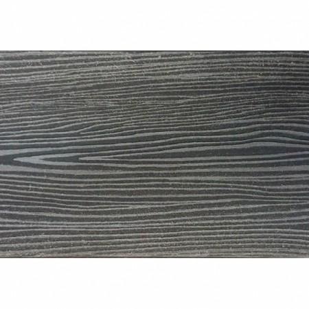 Террасная доска Holzhof (Полнотелая) Антрацит - фото