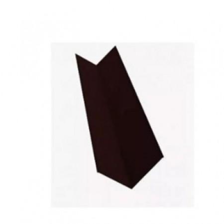 Планка ендовы верхняя простая 145х145х2000 МеталлПрофиль CLOUDY - фото #1