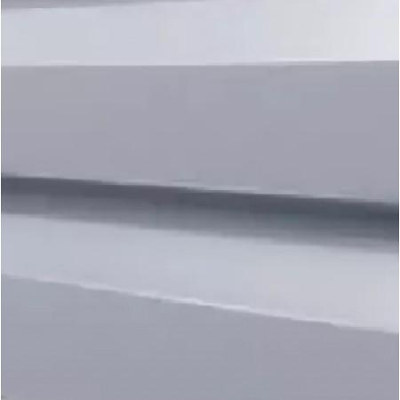 Металлический сайдинг МП 14х226 ПЭ RAL 9006 - фото #1