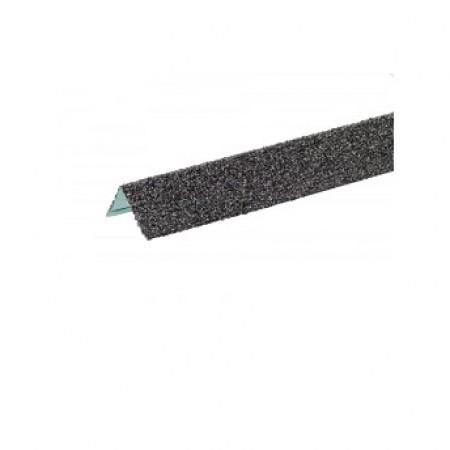 Уголок металлический внешний Hauberk Сланец - фото