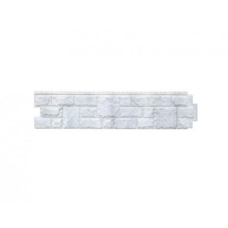 Фасадная (цокольная) панель Grand Line Екатерининский камень Серебро - фото