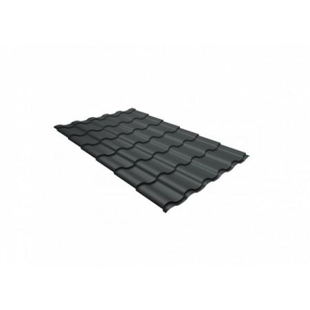 Металлочерепица Кредо 0,45 Polyester RAL 7005 Мышино-серый - фото #1