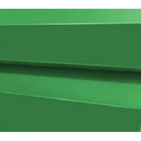 Металлический сайдинг МП 14х226 ПЭ RAL 6002 - фото #1