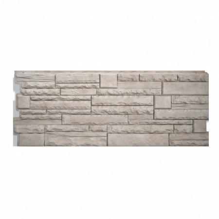 Фасадная (цокольная) панель Альта Профиль Скалистый камень Алтай - фото