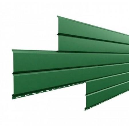 Металлический сайдинг Lбрус 15х240 ПРМ Светло-зеленый - фото #1