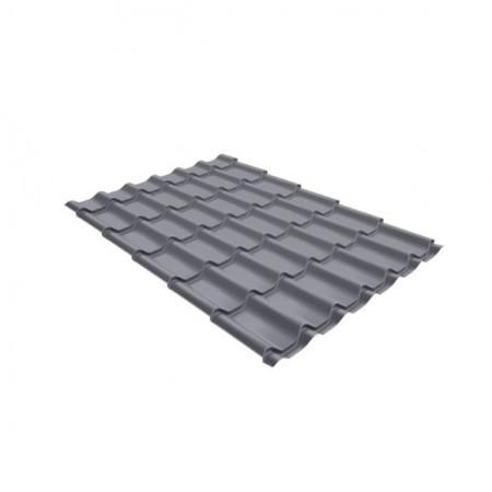 Металлочерепица Классик 0,45 Drap RAL 7004 Сигнальный серый - фото #1