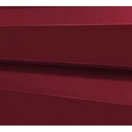 Металлический сайдинг МП 14х226 PURMAN RAL 3005 - фото #1