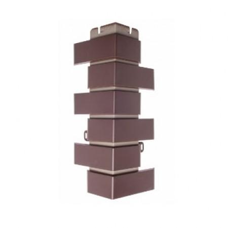 Наружный Угол Альта Профиль Кирпич Клинкерный Шоколад 0,45х0,16м - фото #1