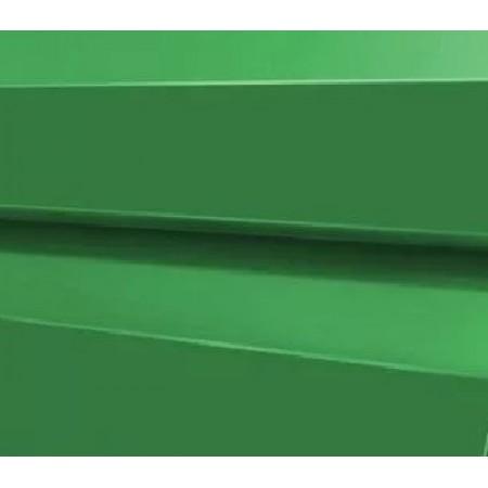 Металлический сайдинг МП 14х226 ПЭ 0,45 RAL 6002 - фото #1