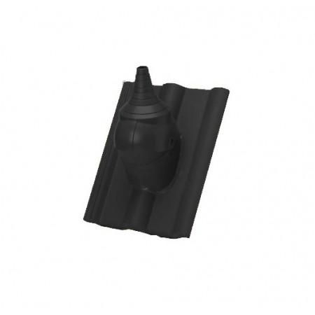 Комплект для прохода через кровлю кабеля или антенной штанги Braas Янтарь - фото #1