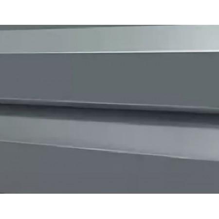 Металлический сайдинг МП 14х226 ПРМ RAL 7024 - фото #1