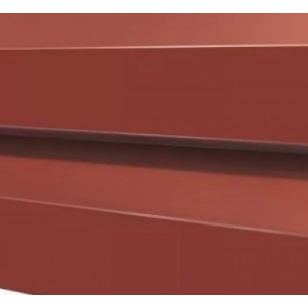 Металлический сайдинг МП 14х226 NormanMP RAL 8004 - фото #1
