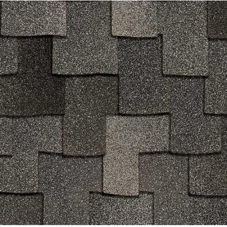 Гибкая черепица (мягкая кровля) Owens Corning Woodcrest AR Granite - фото #1