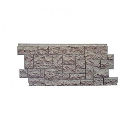 Фасадная панель NordSide Северный камень Терракотовый - фото