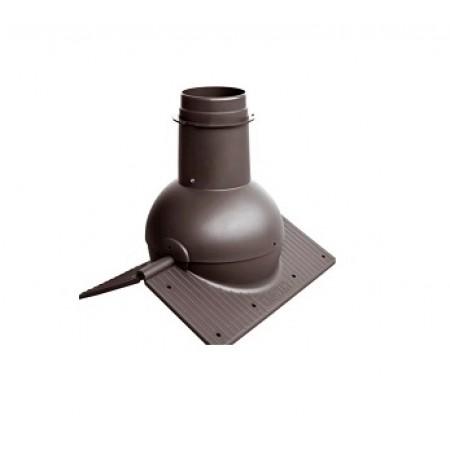 Коньковый элемент Krovent Pipe-Cone - фото #1