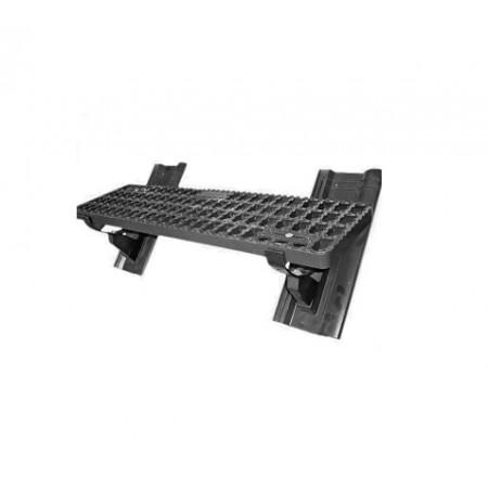 Комплект безопасной подножки 88х25 см Braas Изумруд - фото #1