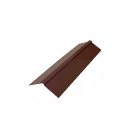 Планка конька плоского 150х150х2000 МеталлПрофиль PURMAN - фото #1