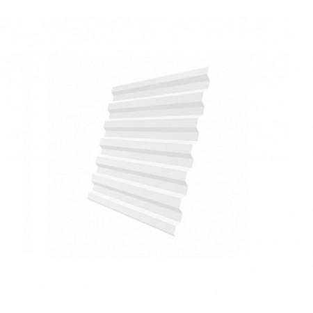 Профнастил С21R Полиэстер 0,4 сталь RAL 9003 - фото