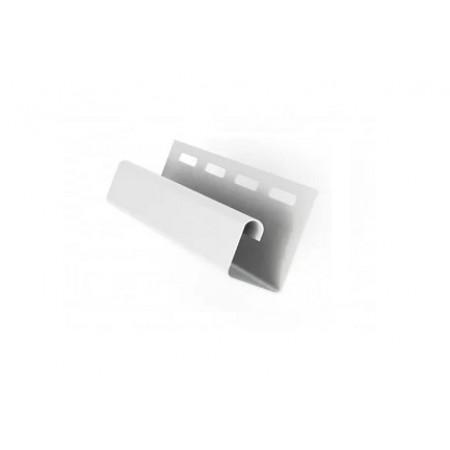 Профиль J 3,00 GL Белый slim - фото