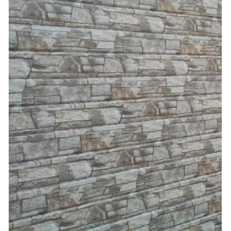 Металлический сайдинг Lбрус 15х240 ECOSTEEL Белый Камень - фото #1