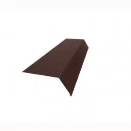 Планка карнизная 100х69х2000 МеталлПрофиль NormanMP - фото #1