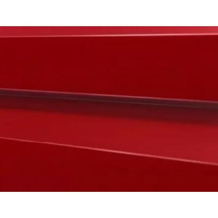 Металлический сайдинг МП 14х226 ПЭ 0,45 RAL 3020 - фото #1