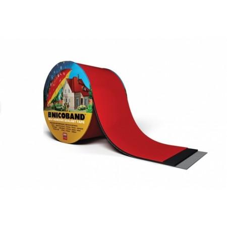Самоклеящаяся лента Nicoband Красная 3м*5см - фото