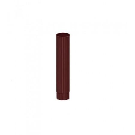 Труба водосточная Металл Профиль D100х3000 0,5 мм ПЛД - фото #1
