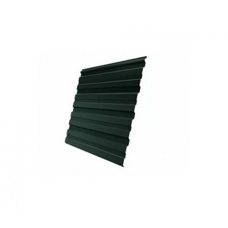 Профнастил С20R GreenCoat Pural Matt RR 11 Темно-зеленый RAL 6020 Хромовая зелень - фото #1