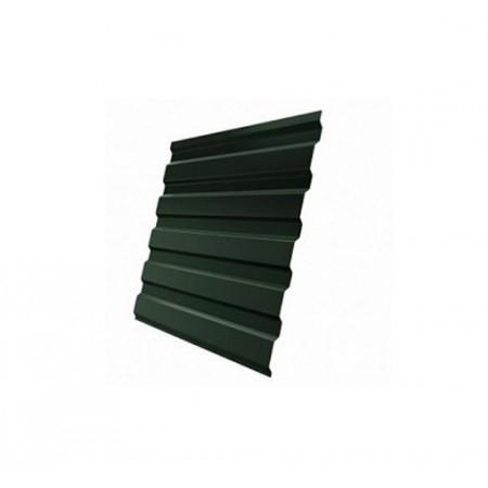 Профнастил С20В GreenCoat Pural matt RR 11 Темно-зеленый RAL 6020 Хромовая зелень - фото #1