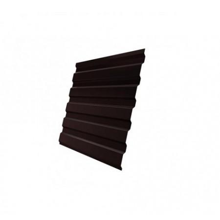 Профнастил С20В GreenCoat Pural RR 887 Шоколадно-коричневый RAL 8017 Шоколад - фото #1