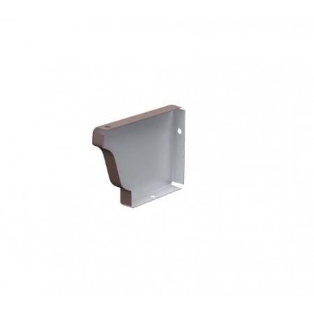 Заглушка желоба левая Металл Профиль 120х86 0,5 мм ПЭ - фото #1