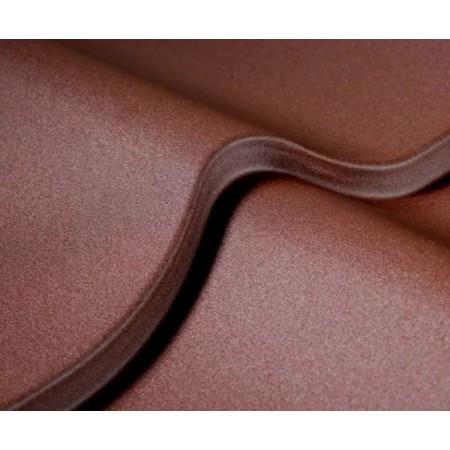 Металлочерепица Матовый полиэстер (GRAPHITE45) - фото
