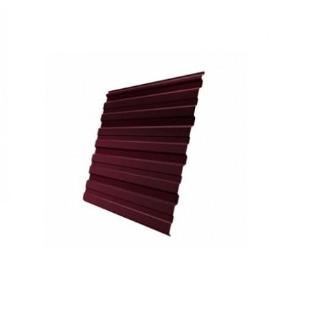 Профнастил С10R Полиэстер 0,4 сталь RAL 3005 - фото