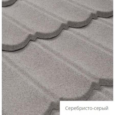 Лист композитной черепицы Tilcor Bond Серебристо-серый - фото #1