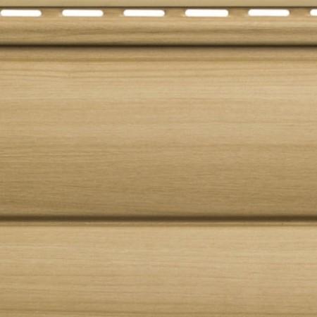 Сайдинг виниловый Альта профиль Карелия BlockHouse двойной BH-03 (3 х 0,226м) Бук - фото