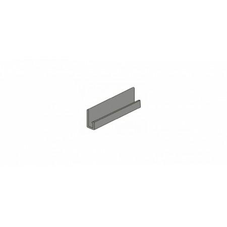 J-профиль Северный камень Металлический - фото #1
