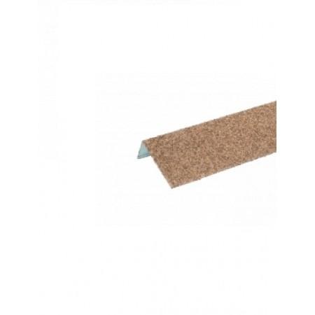 Наличник оконный металлический Hauberk Песчаный - фото