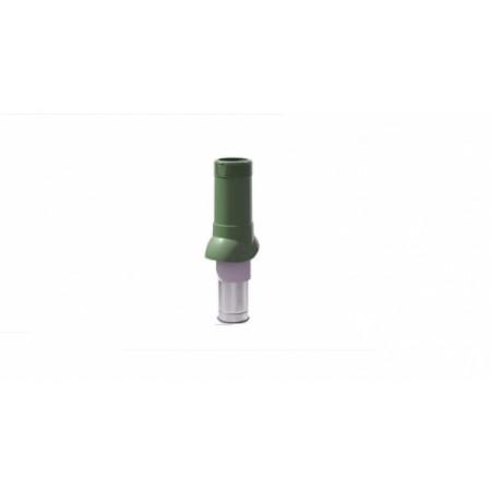 Вентиляционный выход изолированный ТехноНиколь D125/160 зеленый - фото #1