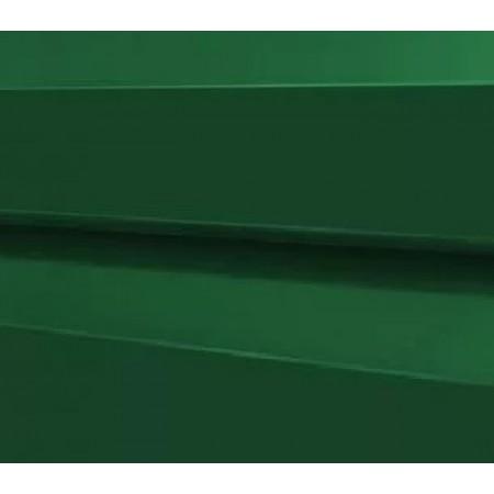 Металлический сайдинг МП 14х226 ПРМ RAL 6005 - фото #1