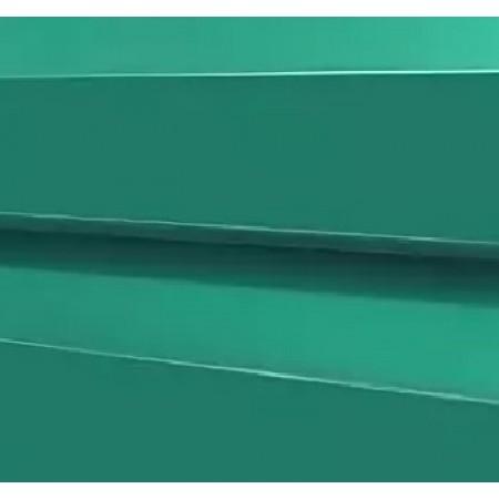 Металлический сайдинг МП 14х226 ПЭ 0,45 RAL 5021 - фото #1