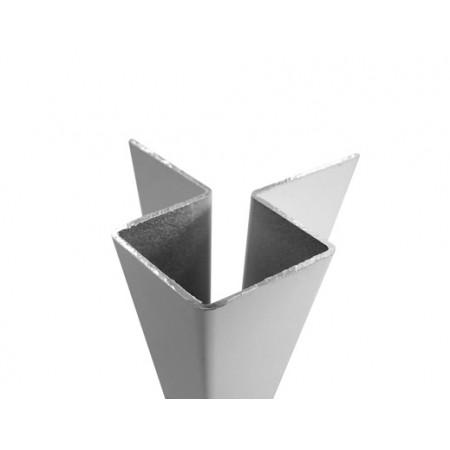 Внешний асимметричный угловой профиль Cedral - фото #1