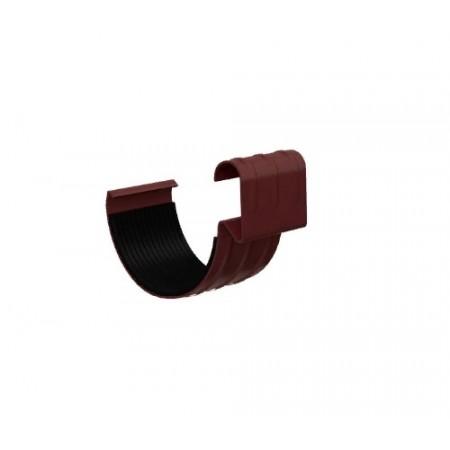 Соединитель желоба Металл Профиль D150 0,6 мм ПЛД - фото