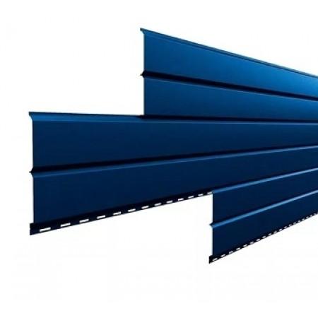 Металлический сайдинг Lбрус 15х240 ПРМ Темно-синий - фото #1